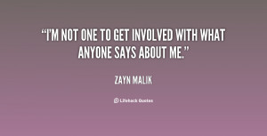 Quotes About Getting Involved