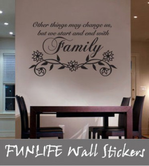 ... ship 54x84cm Other Things May Family Vinyl Wall Lettering Decal Quote