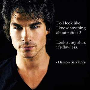 Do I look like... - damon-salvatore-quotes Photo