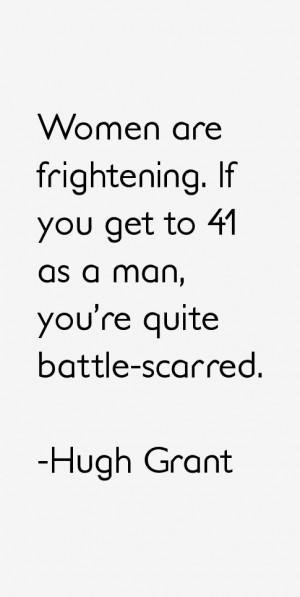 Hugh Grant Quotes & Sayings