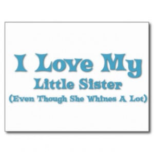 Funny Sister Quotes Cards & More