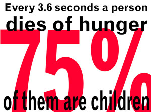 Food Waste & World Hunger..Put a stop to it!
