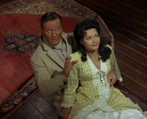 Description John Wayne-Yvonne De Carlo in McLintock!.jpg