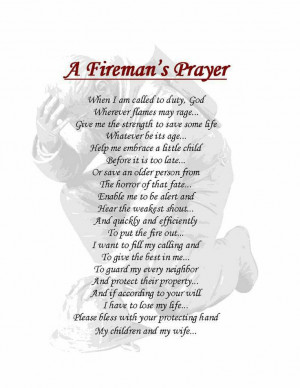 Fireman's Prayer: Firefighters Daughters, Fire Wife, Fireman Wife ...