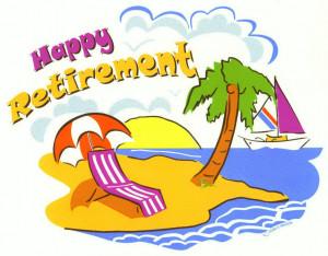 retirement word cloud concept happy retirement clip art