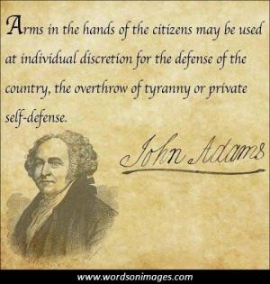 patriotic quotes best meaningful sayings john adams