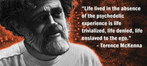 ... psychedelic experience is life trivialized, life denied, life enslaved