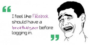 Funny Facebook Drama Quotes