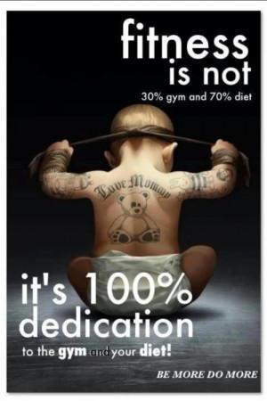Fitness Dedication Baby