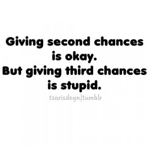 Will you give a second chance to the person who have ever hurt you in ...