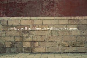 quote-book:kari-shma:we build walls (via Jennifer Tang!)
