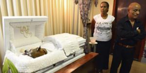 Brownie's funeral service Photo Credit: Primera Hora- El Nuevo Día ...