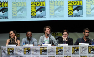 Ansel Elgort Divergent Panels Comic Con 2013 July 18 picture