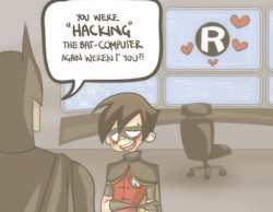 Robin caught RedHanded!!! - young-justice Fan Art