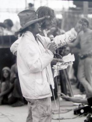 Wavy Gravy at Woodstock