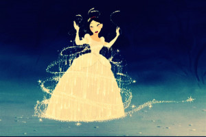 Disney Princess Mulan in Cinderella's dress