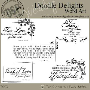 scrapbook for engagement | ISO: Wedding Quotes and Word Art ...