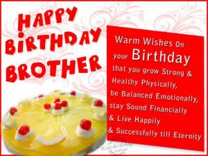 Happy Birthday Brother. .Happy Birthday Big Brother Quotes