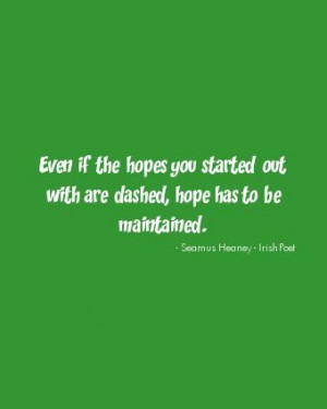Irish Poet Quotes