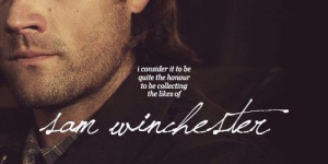 Supernatural | Sam and Death quote