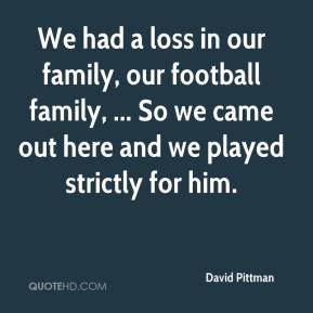 Family Loss Quotes