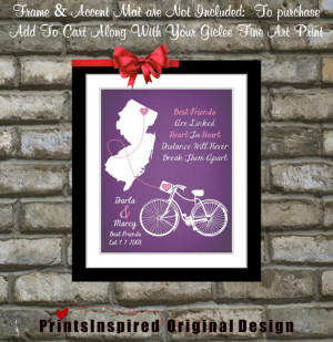 Best Friend Moving Away Quotes Going away gift for best