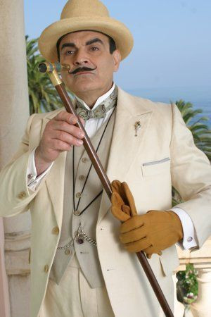 David Suchet as Hercule Poirot, always impeccably turned out. Hercule ...
