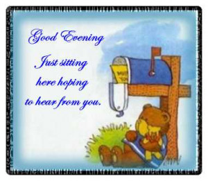 Good Evening Facebook Status, Quotes, Sms, MMS