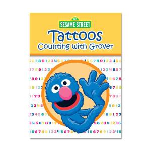 Cookie Monster Elmo Grover