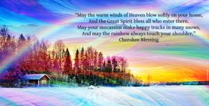 Native American Wisdom & beautiful cherokee blessing