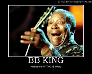 BB King funny