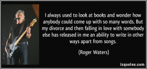More Roger Waters Quotes