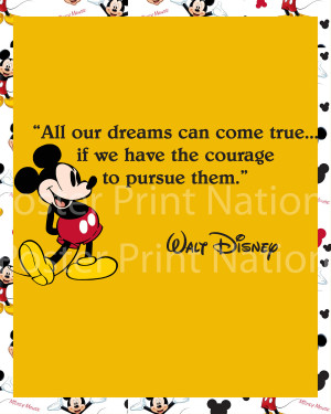Walt Disney Friendship Quotes Mouse walt disney quote