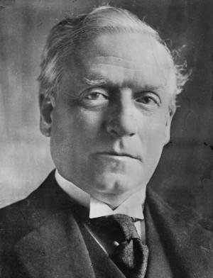 British Prime Minister Herbert Henry Asquith