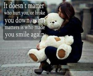 smile again #quote