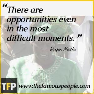 Wangari Maathai Biography