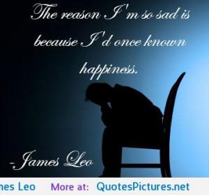 "The reason I am so sad…"" – James Leo motivational inspirational ..."