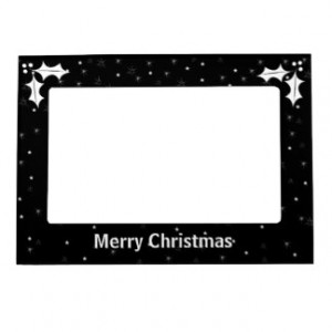 Street Quote About Black And White Christmas Frame