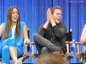 Related Pictures chloe bennet clark gregg promote agents of s h i e l ...