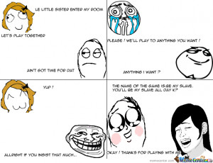 How To Troll Your Little Sister/brother