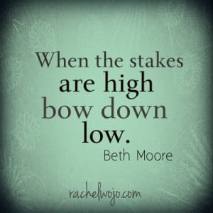 ... Wallenda #skywire last night reminded me of this Beth Moore quote