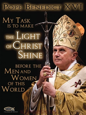 In light of Pope Benedict XVI's announcement to resign his office,