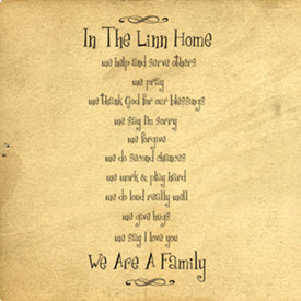 In This Home We Are Family | Wall Decals - Trading Phrases