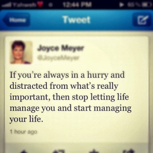 JOYCE MEYER INSPIRATION QUOTE MEMES: