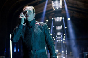 Scotty (Simon Pegg) in Paramount Pictures' 'Star Trek Into Darkness'