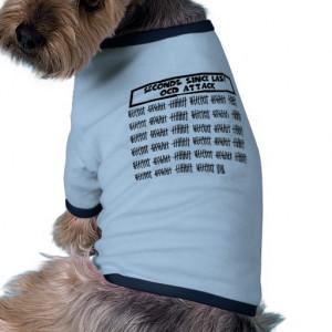 Funny OCD Dog Tee Shirt