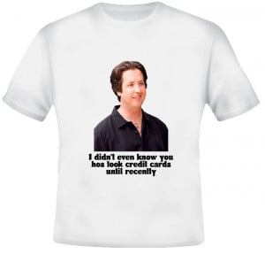 Stevie Credit Card Quote Eastbound and Down T Shirt