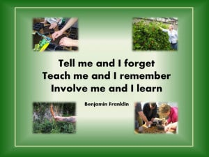 Benjamin Franklin's quote sums up precisely why community gardens can ...