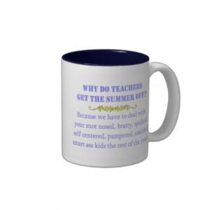 Funny Teacher Mug