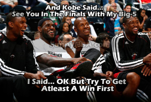 LeBron James carried Mike Brown to the finals...